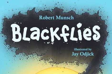Book cover: blackflies