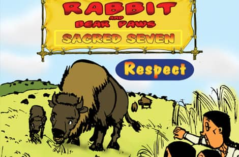 Book cover: Rabbit and bear paws: sacred seven
