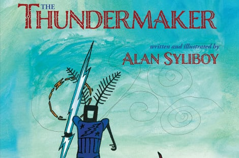 Book cover: The thundermaker