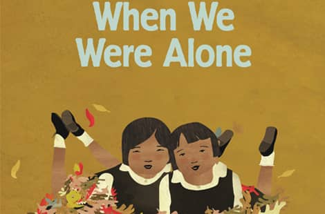 Book cover: When we were alone