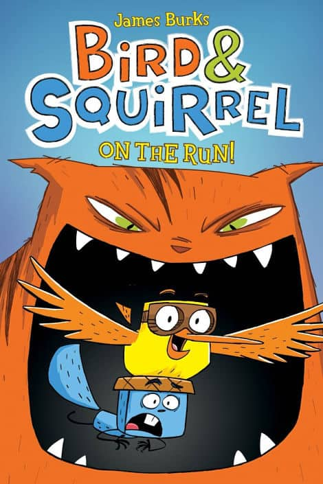 Book cover: Bird And Squirrel On The Run!
