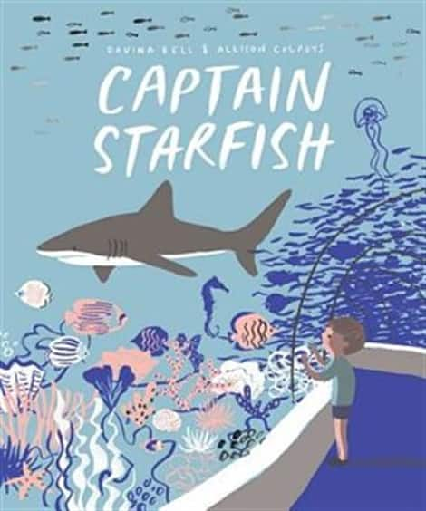 Book cover: Captain Starfish