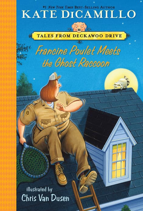 Book cover: Francine Poulet Meets The Ghost Raccoon