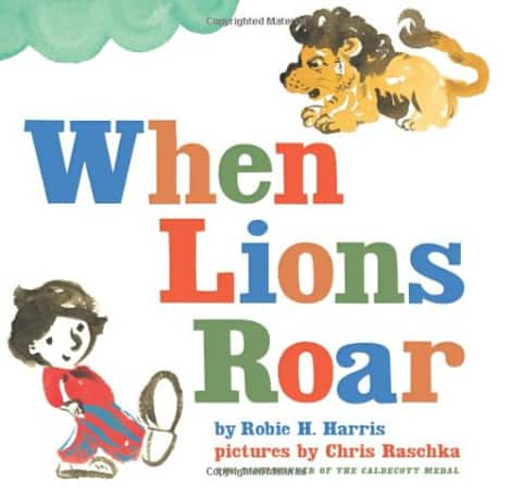 Book cover: When Lions Roar