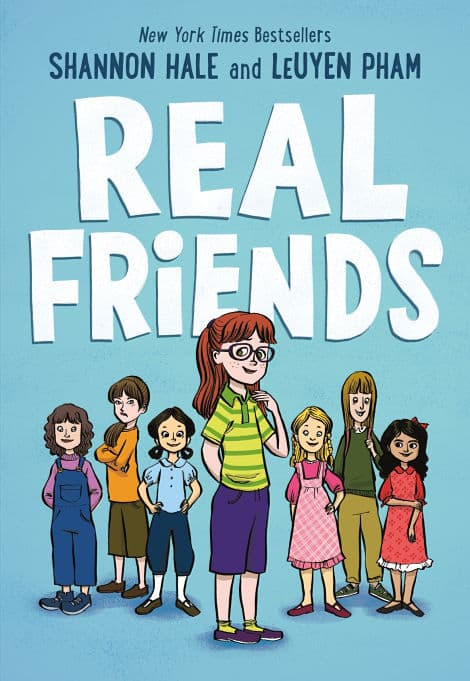 Book cover: Real Friends