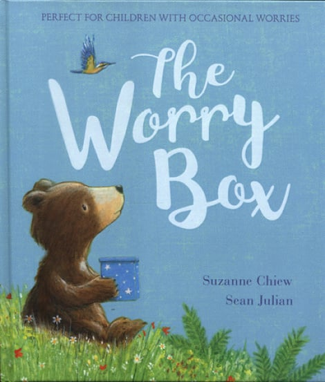 Book cover: The Worry Box