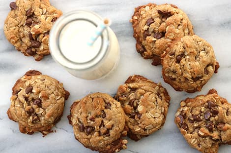 Cookie Butter Oatmeal Cookies