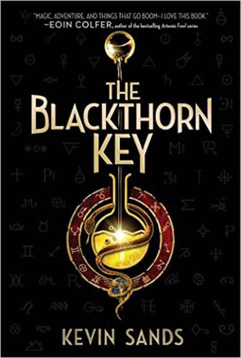 Book cover: Blackthorne Key by Kevin Sands