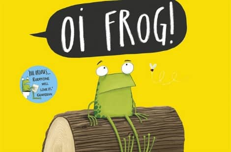 Book cover: Oi Frog