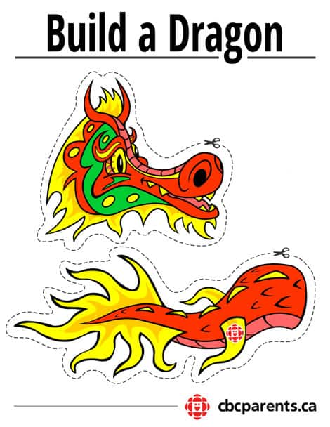 print our build a dragon printable in colour or in black and white right click to save and print
