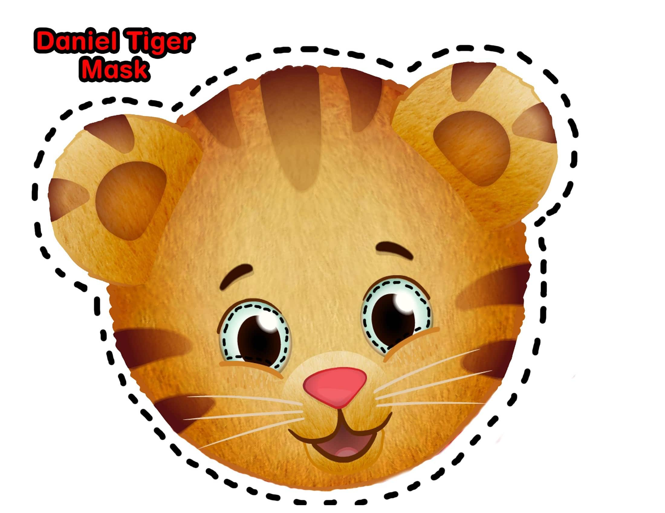 photograph about Tiger Mask Printable titled 7 Do it yourself Children CBC Halloween Costumes Engage in CBC Mother and father