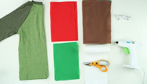 MATERIALS NEEDED TO MAKE COSTUME