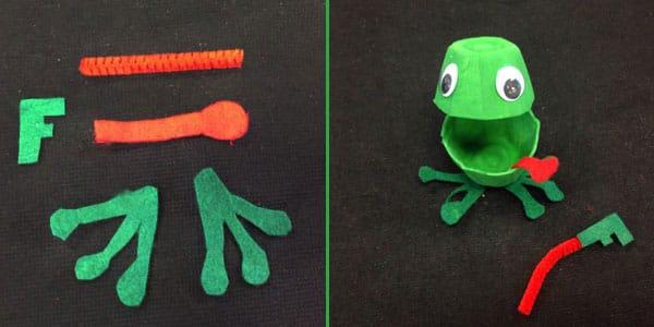 Cute Craft For Kids Make An Egg Carton Froog Play Cbc