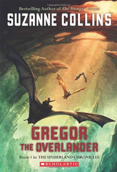 Book cover: Gregor the Overlander by Suzanne Collins