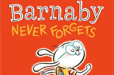 Book cover: Barnaby Never Forgets