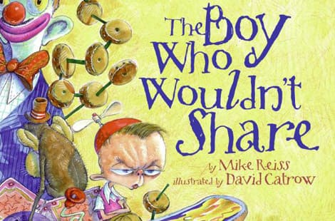 Book cover: The Boy Who Wouldn't Share