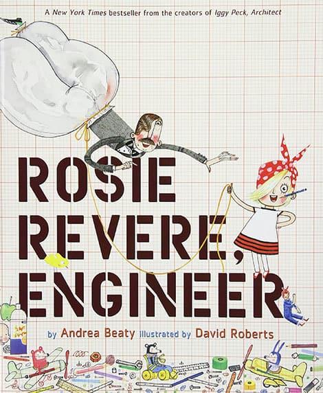 Book cover: Rosie Revere, Engineer