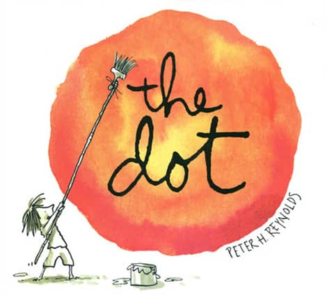 Book cover: The Dot