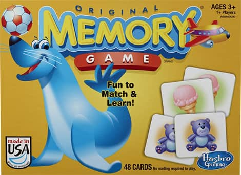 Hasbro Memory board game.