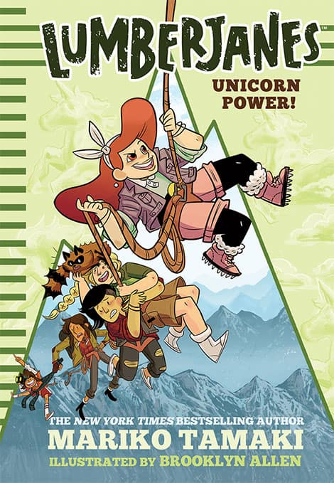 Book cover: Lumberjanes