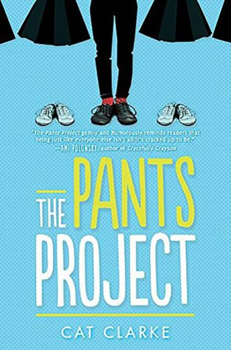 Book cover: The Pants Project