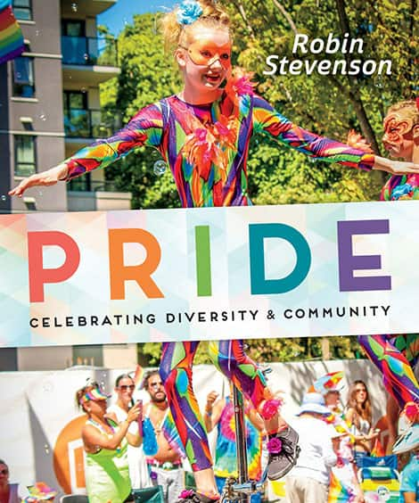 Book cover: Pride: Celebrating Diversity & Community