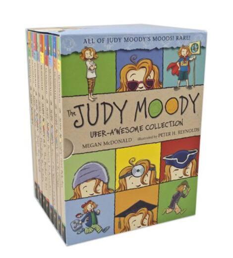 Book cover: Judy Moody by Megan McDonald