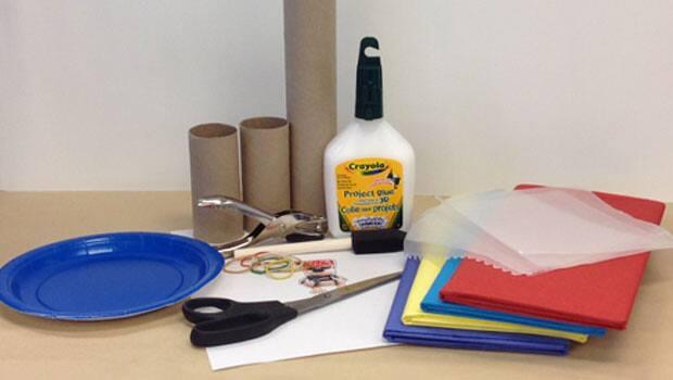 Supplies for a Bookaboo kazoo