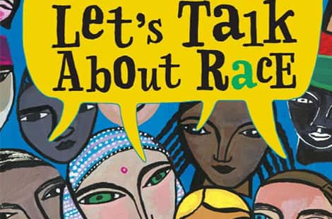 Book cover: Let's Talk About Race