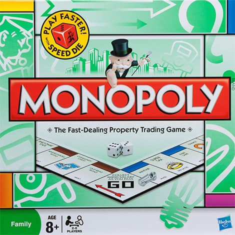 Monopoly board game.