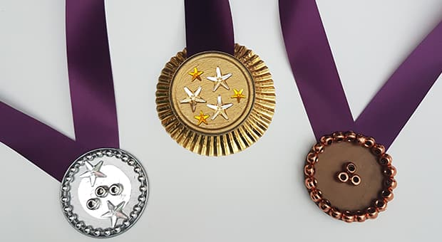 Winter Olympics Craft Idea: Make Your Own Medals | Play