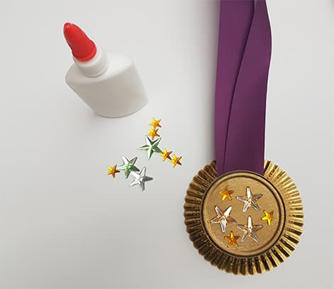 Winter Olympics Craft Idea Make Your Own Medals Play