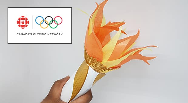 Finished torch craft