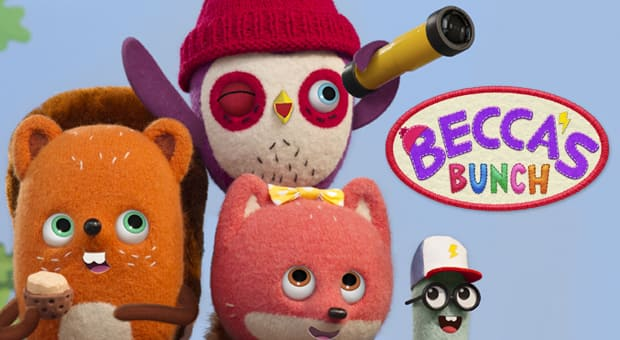 The main characters from Becca's Bunch