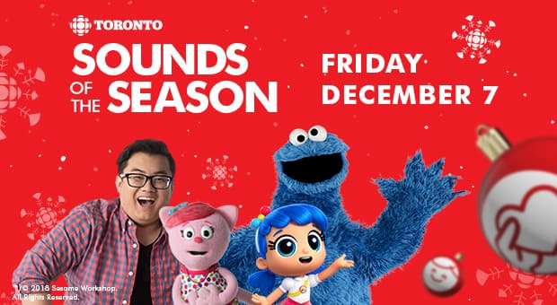 Tony and Cottonball from Studio K with Cookie Monster and True