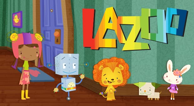 The main characters in Lazoo.