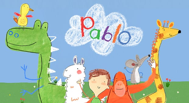Characters by the animated show Pablo.