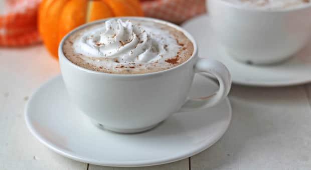 Kid-friendly pumpkin spice latte