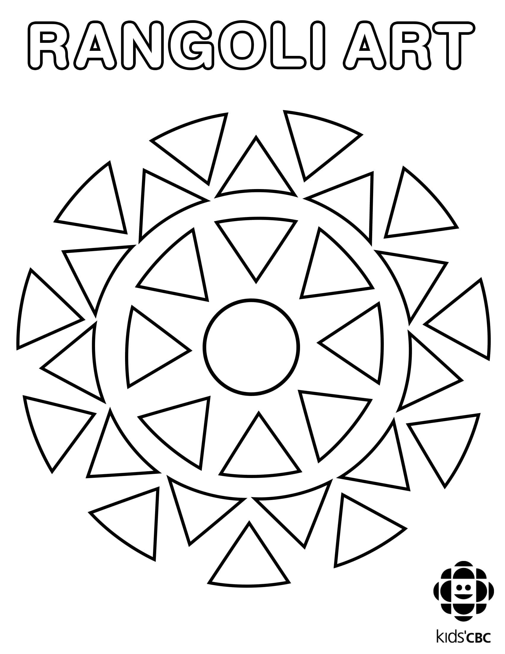 Geometric Coloring Design Coloring Pages Pdf
