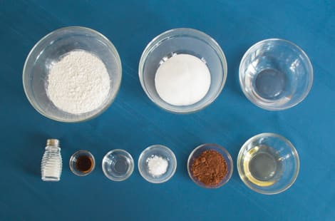 Ingredients for the ration cake