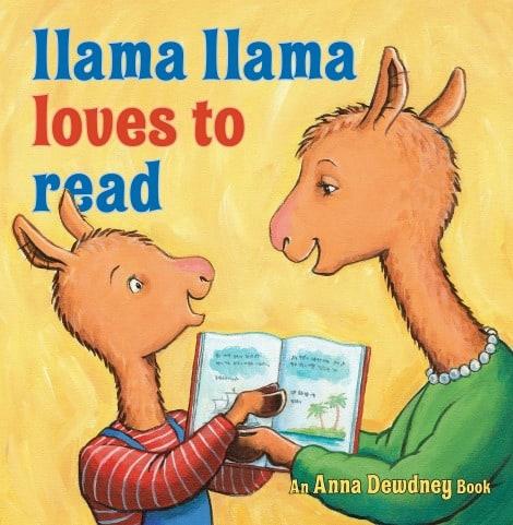 Book cover: Llama Llama Loves To Read