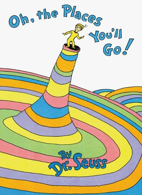Book cover: Oh, The Places You'll Go!