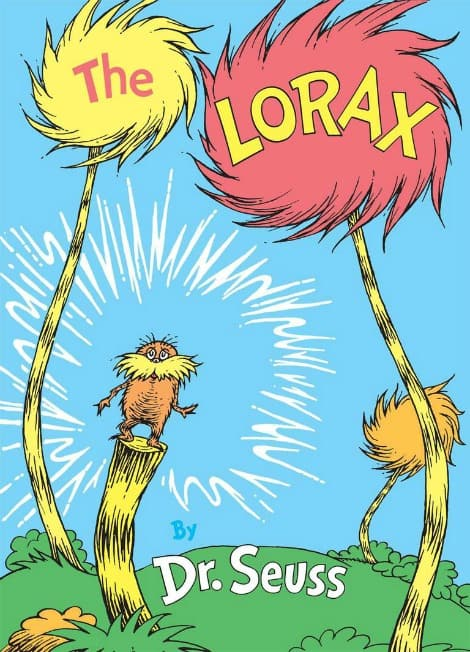 Book cover: The Lorax