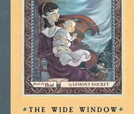 Book cover: A Series of Unfortunate Events (Lemony Snickett)