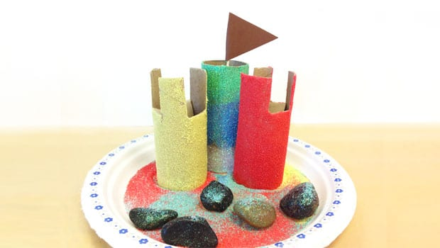 Easy craft make an indoor sandcastle play cbc parents for Indoor crafts for kids