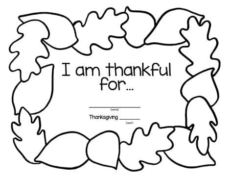 photo relating to Thanksgiving Placemats Printable known as Provide Due With Individuals Printable Grateful Placemats Enjoy