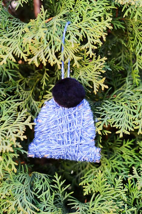 ornament hanging on a tree