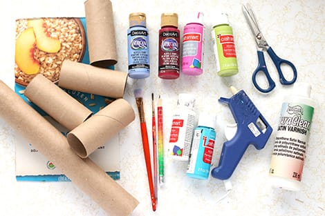 What you'll need to make a toilet paper roll caddy