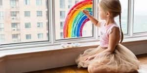 young-girl-painting-rainbow
