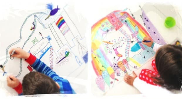 Creative art project for kids create your own world - Create your world ...